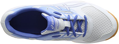 Indoor Donna Sportive White Blue Scarpe Asics Regatta Blue Multicolore Upcourt Airly 2 xBXwqgtpI