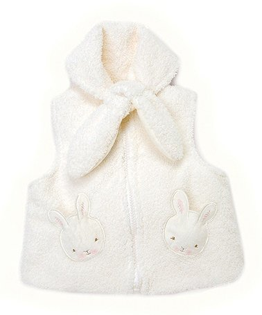 Bunnies By the Bay Baby Cream Bunnie Vest 6-9 Months