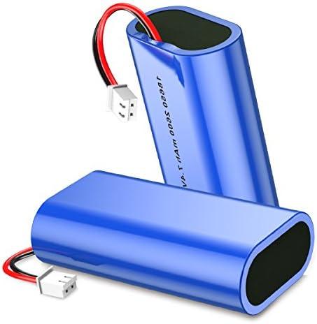 Housmile Accesorios 18650 Batería de 2600mAh de Reemplazo Robot Aspirador Color-Azul: Amazon.es: Hogar