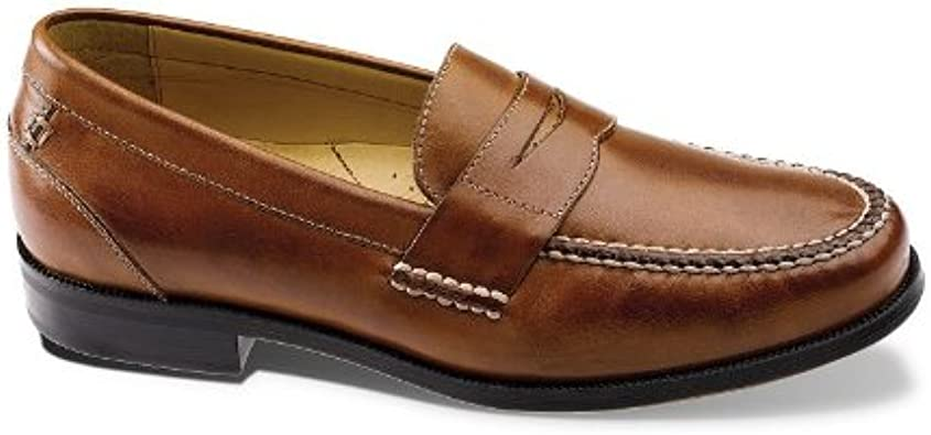 Chaps Brown Contributor Penny Loafers