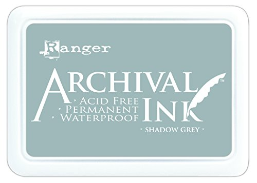 Archival Ink Pad #0-Shadow Grey (Grey Pad)