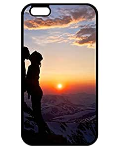 2655129ZE593664966I6P New Style Sunset kiss in mountains iPhone 6 Plus On Your Style Birthday Gift Cover Case