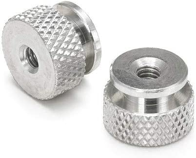 9//16 Hex 1//4-20 TrdX3//80 Pack of 50 Thumb Nut