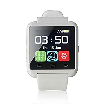 Smart Bluetooth Watch, U8 Smartwatch Mobile Watch U8, Android Pantalla táctil U80 U8 Smart Watch con U8 Relojes Inteligentes Bluetooth: Amazon.es: ...