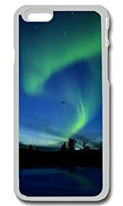 Aurora Borealis Northern Lights Personalized Custom iPhone 6 Case Cover - PC Transparent