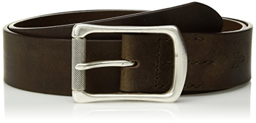 FRYE Men's Leather Engineer Belt, Olive, - Mens Engineer Frye