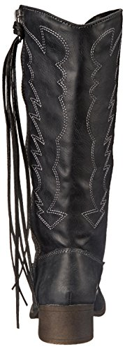 Boot Black Western Durant madden Women's Paris girl Swq4HI6