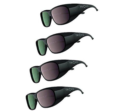 INFICOLOR 3D Eyewear official 3D glasses Batman Arkham City Assassins Creed Revelations HDTV Set of 4