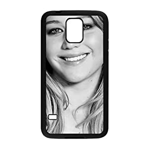 Smiling lovely girl Cell Phone Case for Samsung Galaxy S5