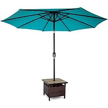 Amazon Com Shademobile Ru22 6250 Rolling Umbrella Stand