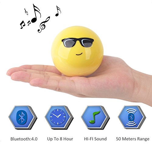 Mini Wireless Bluetooth Speaker Hifi Big Sound Built in Microphone for Handsfree Calling Support Micro SD Card 4.0 Bluetooth Works 60Feet 8 Hrs - Mp3 Cheap Sunglasses