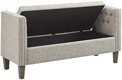 Super Gavin Storage Bench Grey Multi See Below Amazon Co Uk Short Links Chair Design For Home Short Linksinfo