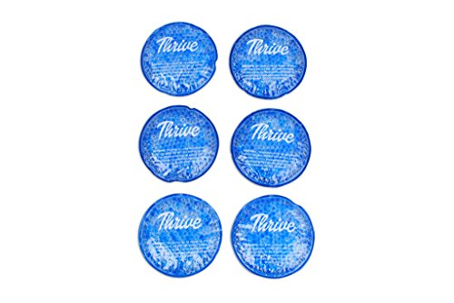 Round-Hot-Cold-Packs-6-PACK-Heat-or-Ice-Therapy-Flexible-reusable-gel-beads-with-cloth-fabric-backing-Great-For-Wisdom-Teeth-Breastfeeding-Tired-Eyes-Injuries-Headaches-Sinus-Relief