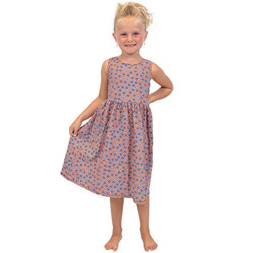Stretch is Comfort Girl's Print Dress Flower Confetti - Print Confetti Dress