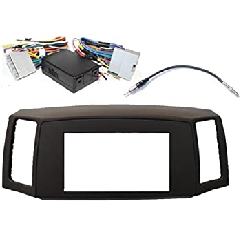 41GiX%2BnFMlL._SL500_AC_SS350_ Jeep Stereo Wiring Harness Adapter on car audio harness adapters, chevy trailblazer stereo harness adapters, car stereo adapters, stereo wiring harness kit, radio harness adapters, stereo wiring harness color codes,