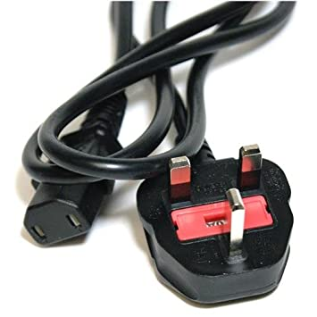 Official Microsoft Xbox One UK 2 Pin Power Cable Kettle: Amazon.co ...