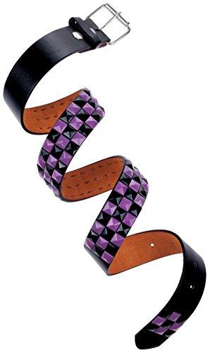 Purple Stud Belt - 9