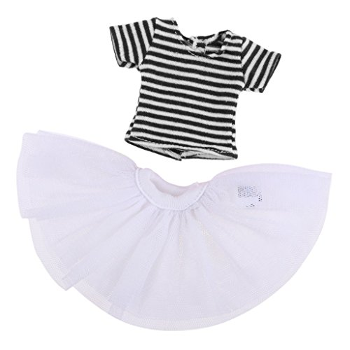 12'' de Tops Habits Noir Poupe Violet Ray Baosity B Poupe Costumes Dentelle Robe Vtement pour ARHRTq
