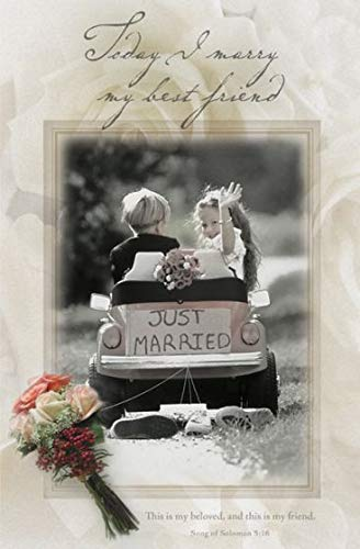 Today I marry my best friend (u6222) Wedding Programs (Pkg-100)]()