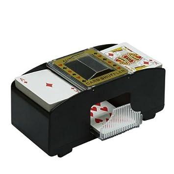 Mezclador de cartas eléctrico- Poker- Maquina de barajar ...