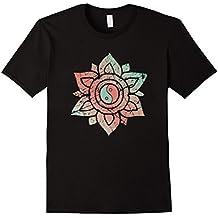 Yin Yang Colorful Mandala Chinese Tao Qigong Tai Chi T-Shirt