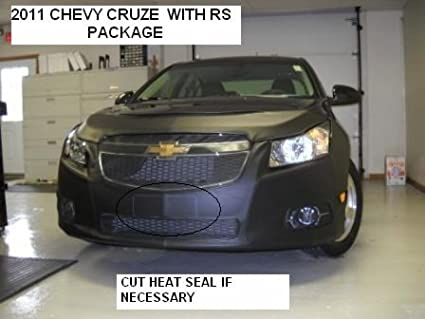 Lebra 2 Piece Front End Cover Black - Car Mask Bra - Fits - Chevy Chevrolet Cruze With RS Package 2011-2013 Covercraft 551283-01A
