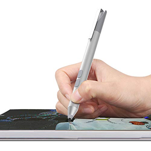 Pen Work with Surface Pro 7, Pro 6, Pro 5th Gen, Pro 4, Pro 3, Surface Laptop, Surface Book, Surface Go, 2500 Hours Working time with Palm Rejection (Sliver)