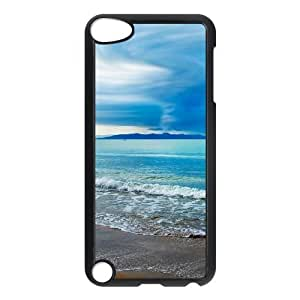 Seaside Personalized Case for Ipod Touch 5, Customized Seaside Case
