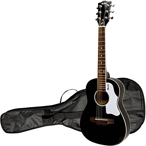 Gibson Maestro 30'' Mini Acoustic Guitar, Black, with Gig Bag by Gibson