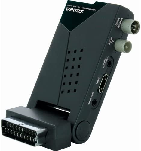 decodeur recepteur adaptador TDT HD TV tele Television toma peritel USB HDMI