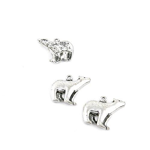 polar bear charm - 6