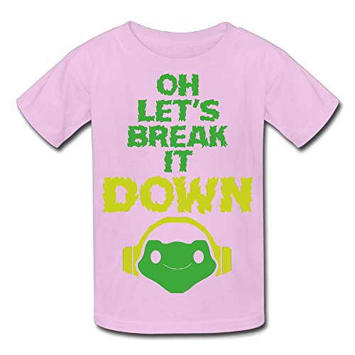 Youth's Oh Lets Break It DOWN 5.2 Oz T-shirt Pink (Lets Make A Deal Props compare prices)