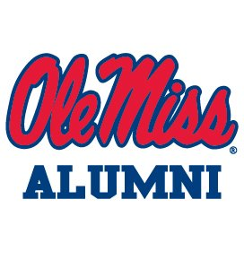 Ole Miss Rebel ALUMNI Clear Vinyl Decal Car Truck Mississippi - Alumni Miss Ole
