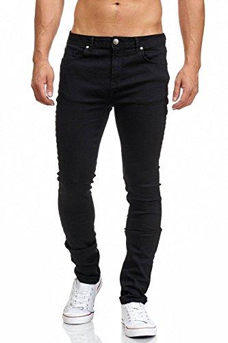 MADDU Herren Jeans Hose Denim Black 205
