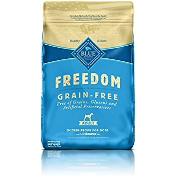 BLUE Freedom Adult Grain Free Chicken Dry Dog Food 24-lb