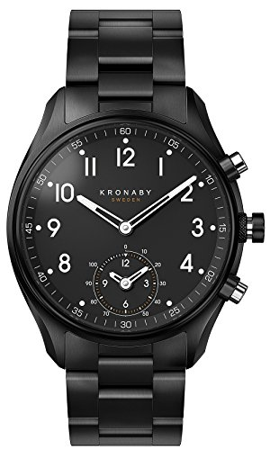 Kronaby Apex Quartz Watch Black 43mm 10 atm A1000-0731
