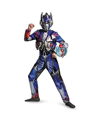 [Optimus Prime Deluxe Costume - Medium] (Transformers Optimus Prime Deluxe Child Costume)