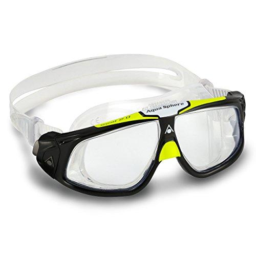 Aqua Sphere Masque Seal Lentille claire / noire / citron vert