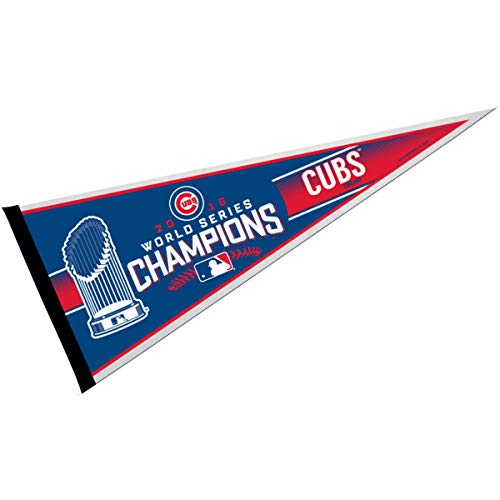 Rico MLB Chicago Cubs World Series Champ Pennant, 30
