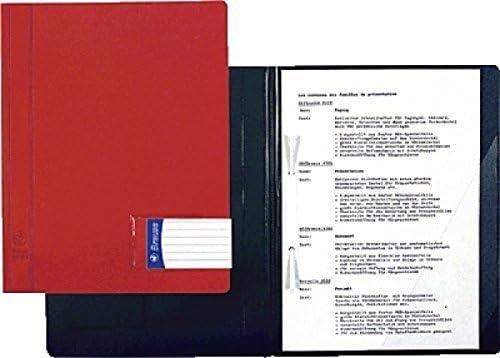 BRAUSE 2 x Sichthefter PROJEKT 4392 Präsentationen verschiedene Farben