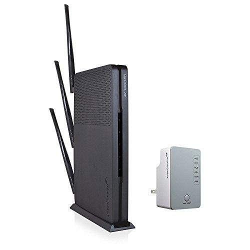 Amped Wireless Ultra Fast Wi-Fi Router & Range Extender Bund