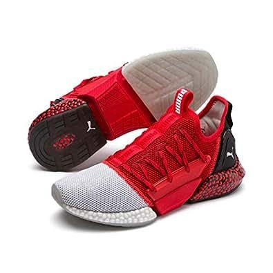 PUMA Men's Hybrid Rocket Runner Sneaker, High Risk Red-puma Black-puma, 7 US
