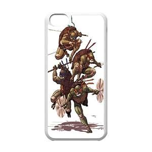 Cartoon TMNT,Teenage Mutant Ninja Turtles series case cover For Iphone 5c SB4569810