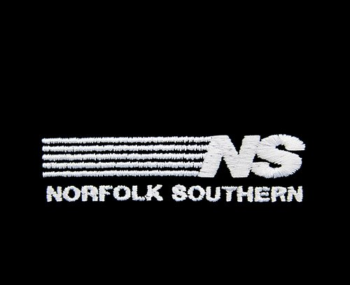 Daylight Sales Norfolk Southern Railway Short Sleeve Embroidered Denim den32SS