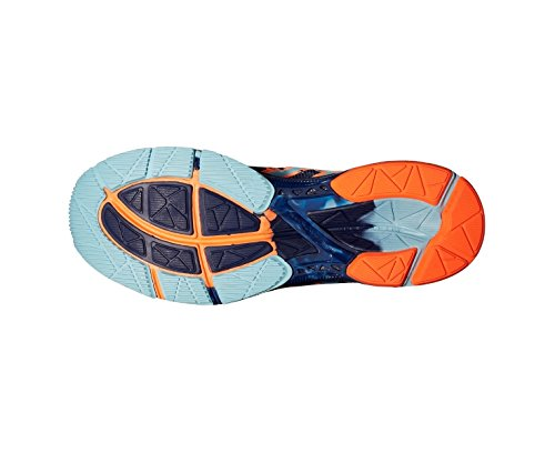 Asics Scarpa Da Running Gel-Noosa Tri 10 Blu/Blu Navy/Arancione EU 46.5