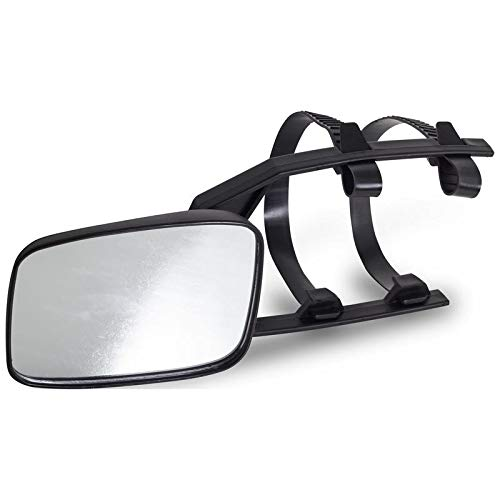 Motorup America Safety Tow Mirror Fits Select Vehicles Car Truck Van SUV ()