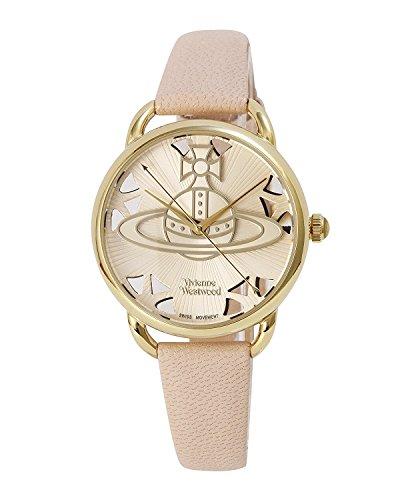 Vivienne Westwood watch LEADENHALL white dial pink leather Quartz VV163BGPK Ladies