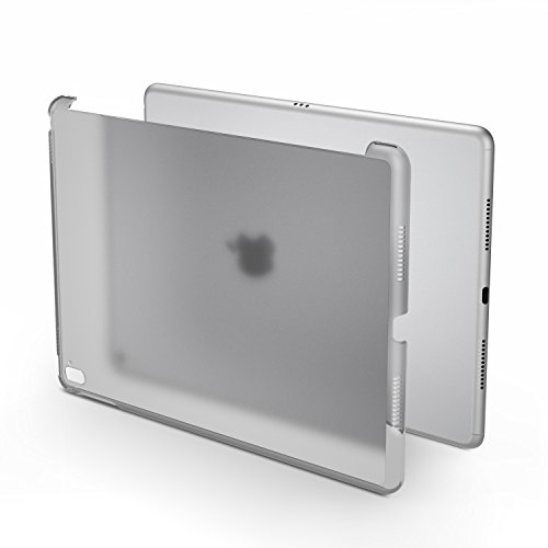 MoKo Case for iPad Pro 9.7 - Frosted Translucent Hard Plastic Bumper Protector/Back Cover for iPad Pro 9.7