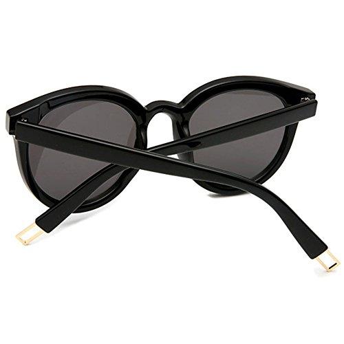 Unisex Ocean Colors hibote gato Gafas Gris sol Ojo UV400 de de Negro Negro gRqz0RT1w