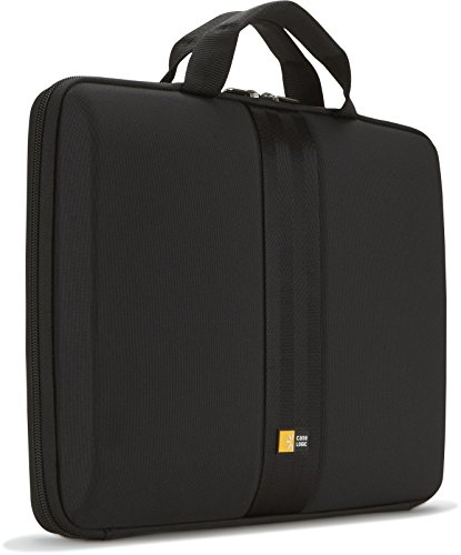Case Logic QNS-113 13.3-Inch EVA Molded Laptop / Macbook Air / Pro Retina Display Sleeve (Black) (Notebook Case Eva)